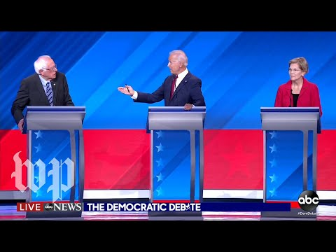 Democrats call out Democrats, not Trump, in third debate