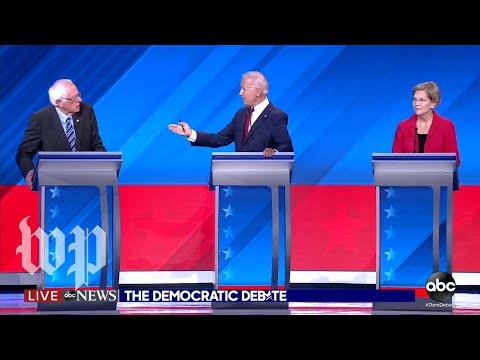 Democrats call out Democrats, not Trump, in third debate