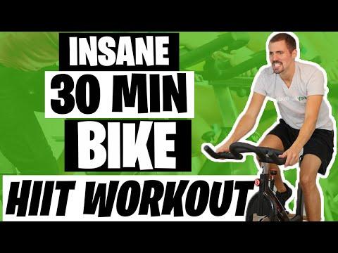 HIIT Workout Insane 30 Minute Bike Workout