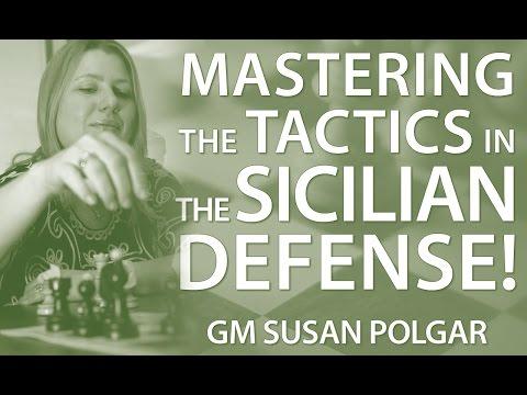 Master 👉 The Typical Tactics in The Sicilian Defense 🤔 - GM Susan Polgar