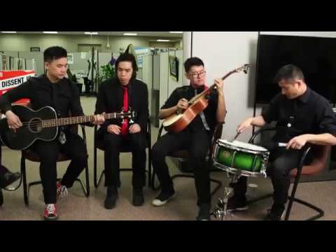 The Slants Perform at ACLU Office Concert