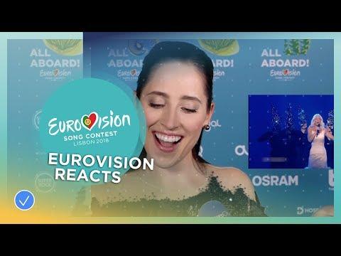 Elina Nechayeva from Estonia REACTS to Eurovision opera