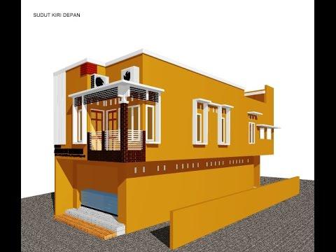tampak depan rumah model ruko - model desain rumah