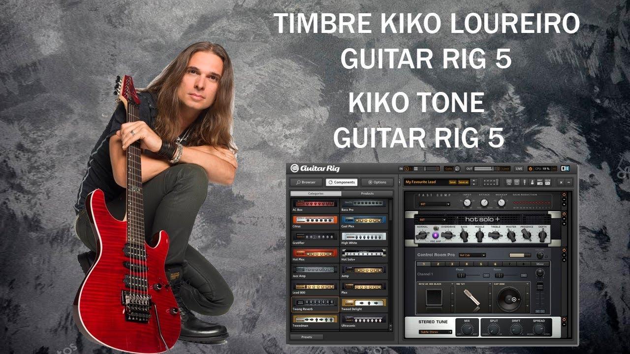 kiko loureiro tone guitar rig 5 timbre kiko loureiro guitar rig 5 youtube. Black Bedroom Furniture Sets. Home Design Ideas