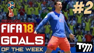 Fifa 18 WORLD CUP - TOP 10 GOALS OF THE WEEK #2 (Fifa World Cup)