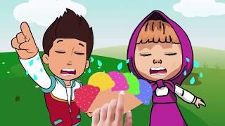 😇 Trò chơi cho trẻ chọn cây kem thích hợp cho cô bé quàng khăn 😇 Dạy bé học màu , chọn vật đúng 😇