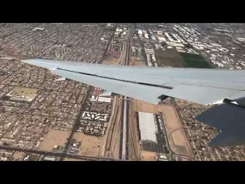 Vancouver To Phoenix -- Air Canada Rouge Boeing 767. Close Call With Bird?