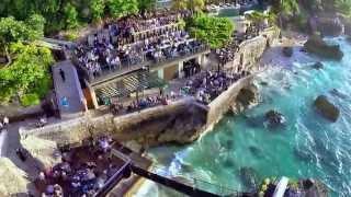 Ayana Resort, Bali: The Rock Bar. (DJI Phantom 2 + GoPro3 Black Edition)