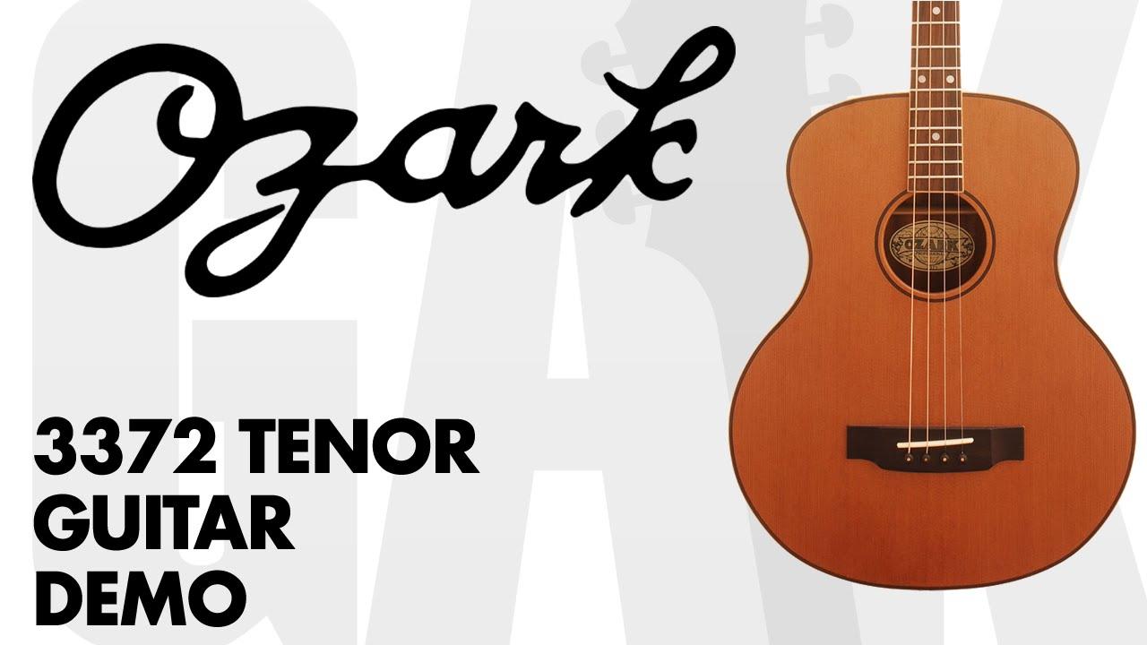 Ozark 3372 Tenor Guitar - Ozark 3372 Tenor Guitar Demo Review at GAK