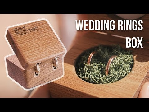 Making a wedding rings box