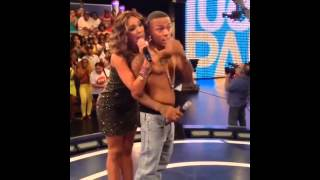 Erica Mena Strips & Kisses Shad Moss Bow Wow, Shirtless in TV Show