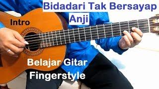 Video Anji Bidadari Tak Bersayap (Intro) - Belajar Gitar Fingerstyle Untuk Pemula download MP3, 3GP, MP4, WEBM, AVI, FLV Januari 2018