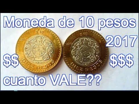 10 Pesos Moneda ACTUAL del 2017 - YouTube