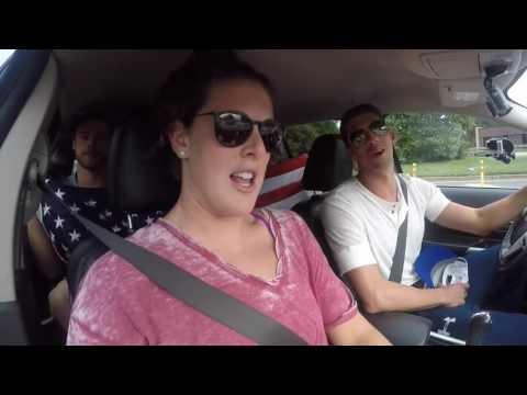 2016 USA Olympic Swim Team Carpool Karaoke Zac Brown Band   Chicken Fried