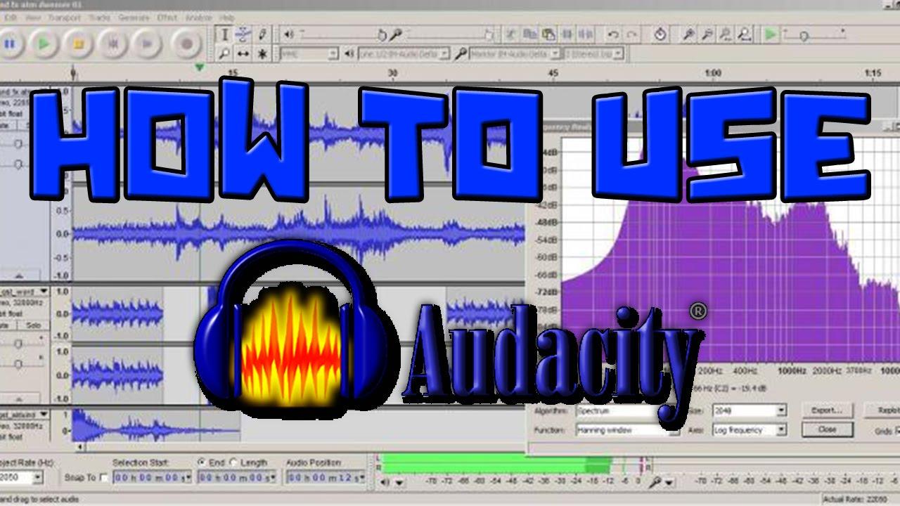 How to use Audacity 89