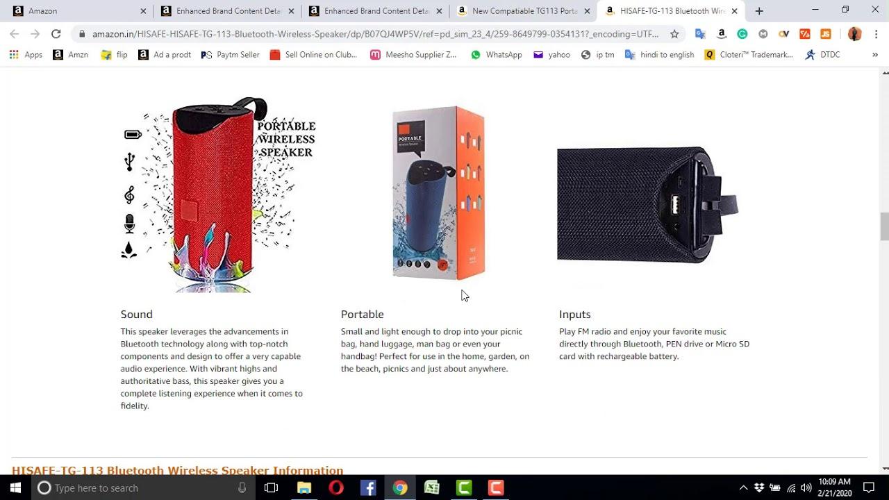 amazon product description guidelines