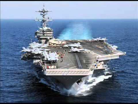 aircraft carrier USA เรือบรรทุกเครื่องบินสหรัฐ