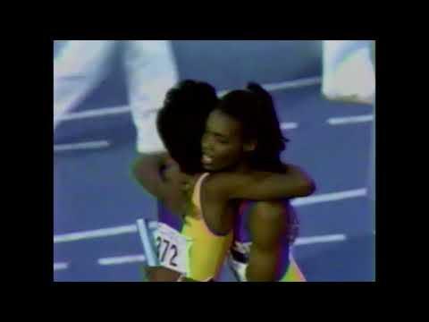 LSU - Women's 4 x 100m Relay - 1989 NCAA Outdoor Championships