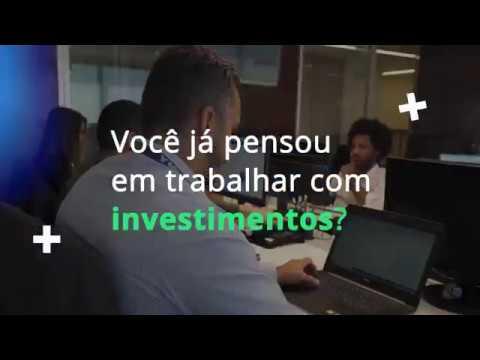 Já pensou em trabalhar com investimentos?
