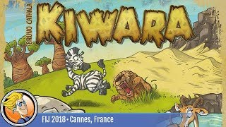 Kiwara — game preview at FIJ 2018 in Cannes