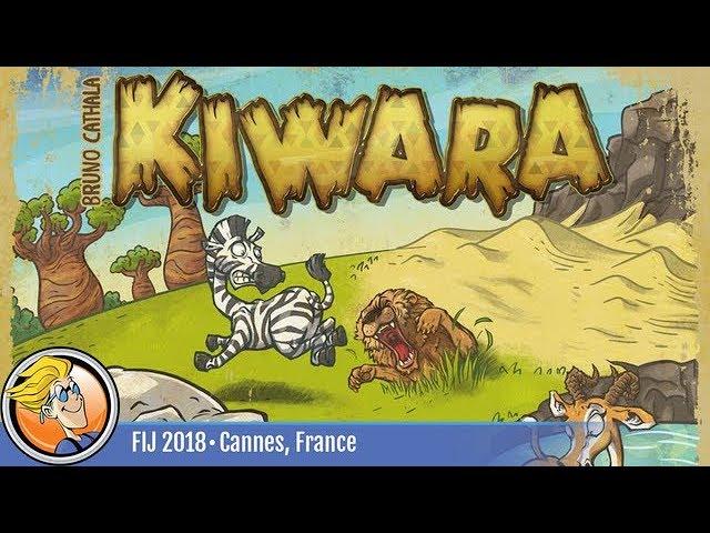 Kiwara — game preview at FIJ 2018 in Cannes