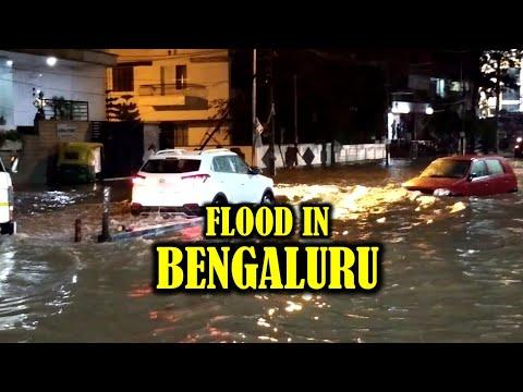 Flood in Bangalore |Bangalore almost sunk in water| Bangalore rain |Bangalore drainage system