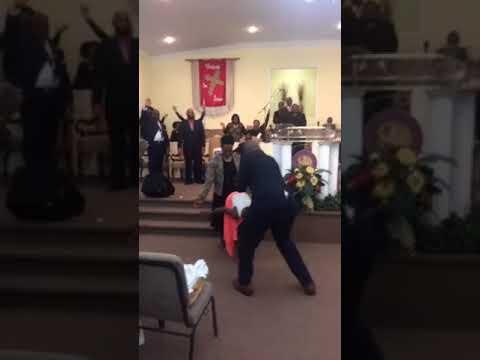 Holy Ghost is still flowing!! Bishop Vincent Mathews