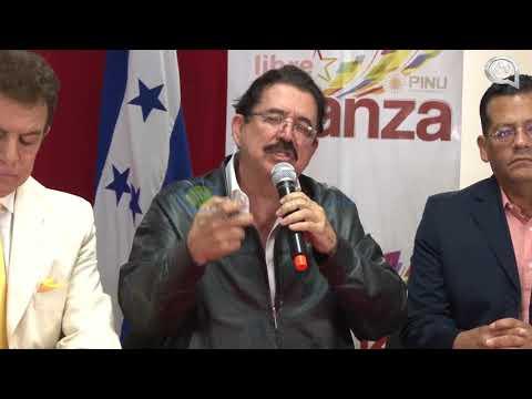 """""""Tomaré posesión el 27 de enero como Presidente de Honduras"""""""