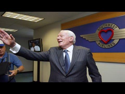 Southwest co-founder Herb Kelleher dies at 87