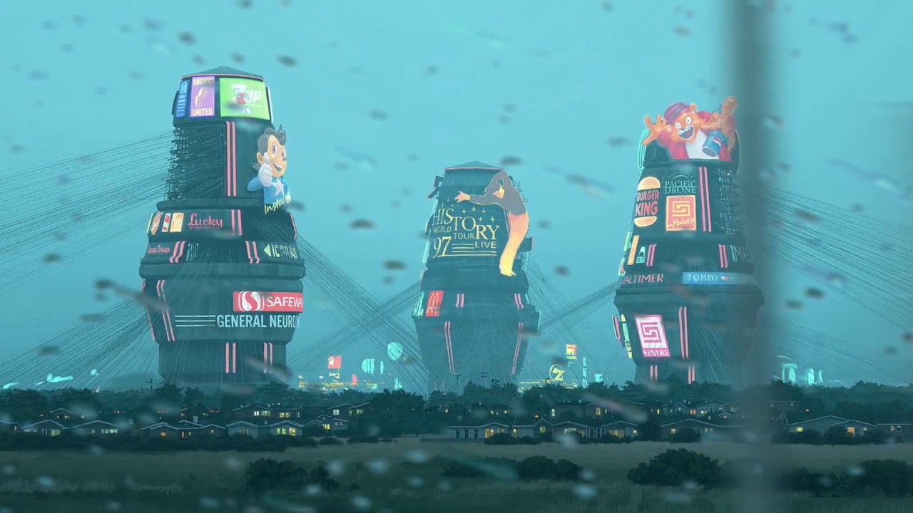 The Electric State by Simon Stalenhag – Animated