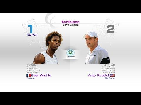 virtua-tennis-4-sega-gael-monfils-vs-andy-roddick-rafael-nadal-roger-federer-andy-murray