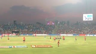 Dhoni and Team RPS Practicing before a Match at MCA STADIUM, Pune ! Part 2
