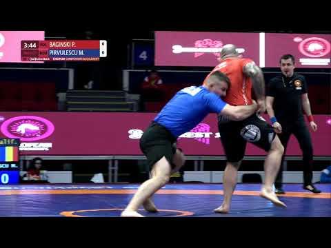 Qual. Men's GP No-Gi - 92 kg: P. BAGINSKI (POL) v. M. PIRVULESCU (ROU)
