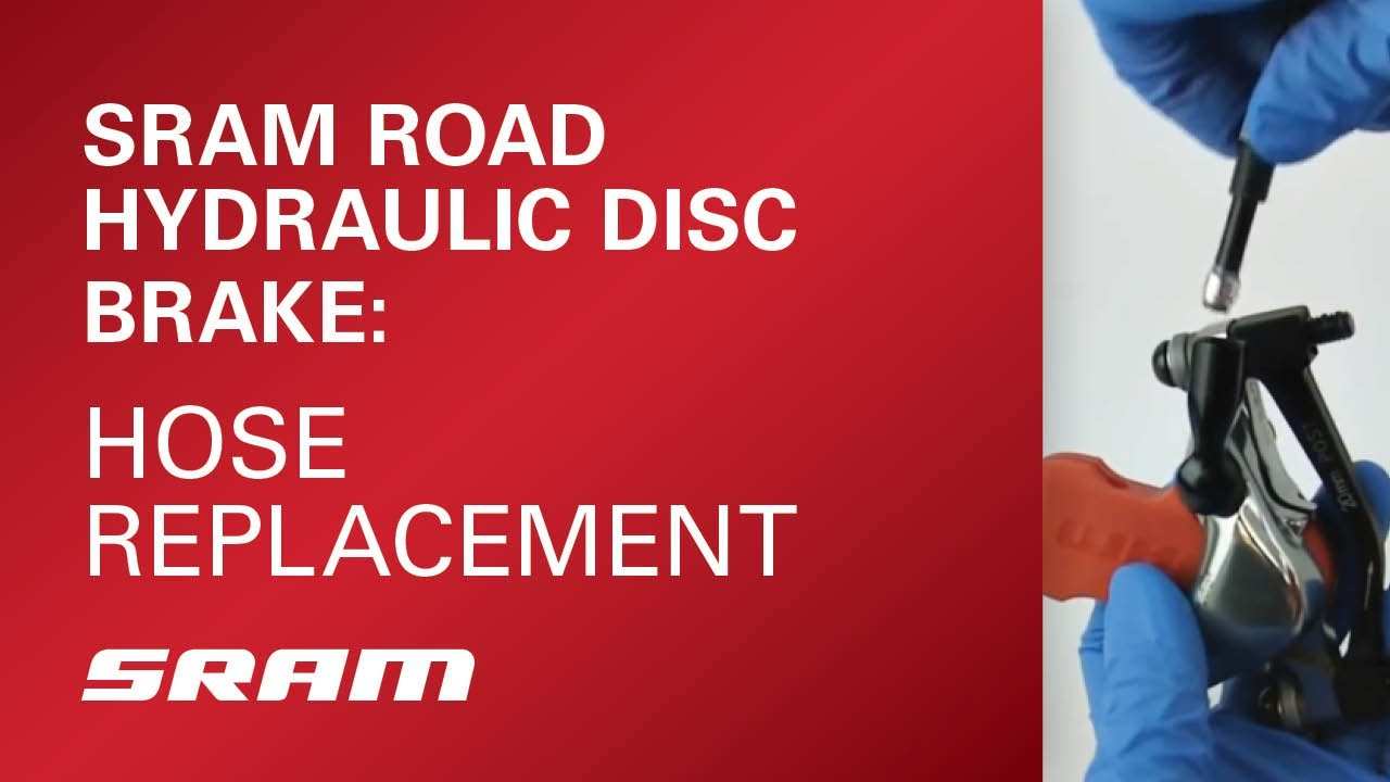 SRAM Road Hydraulic Disc Brake Hose Replacement