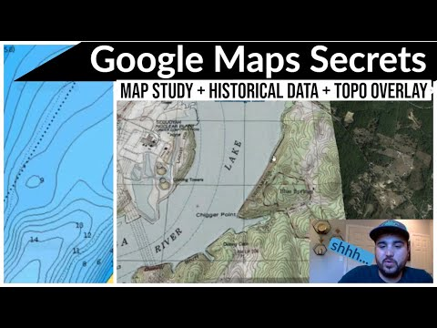 Google Maps Secrets || Map Study Makes Better Fisherman || Chickamauga Lake