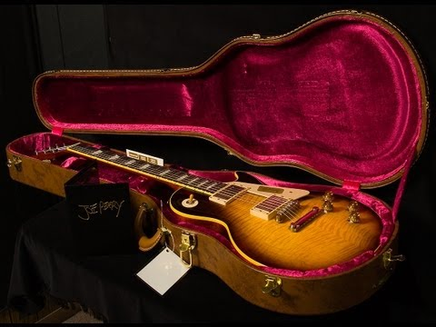 Gibson Custom Shop Joe Perry 1959 Les Paul VOS  •  SN: JP59021