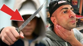 Haters Pull KNIFE on YOUTUBER & Get Him ARRESTED! FouseyTube, FaZe Jev, Boogie2988, YouTuber Hackers