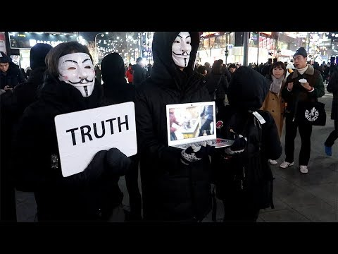 Anonymous for the Voiceless | Seoul, South Korea