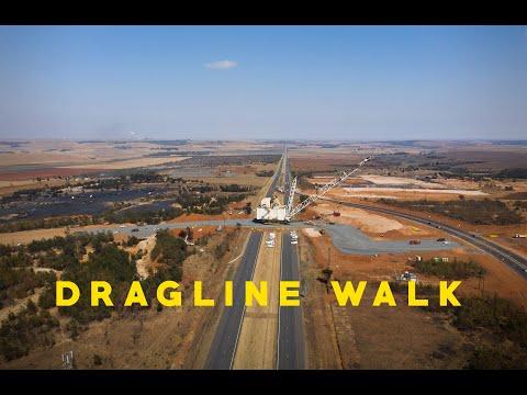 Anglo American: Dragline Walk