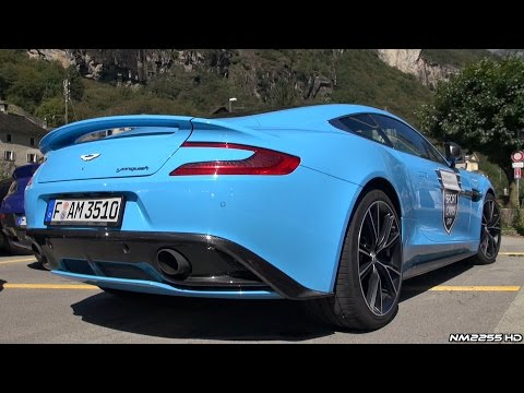 Aston Martin Vanquish V12 Engine Symphony