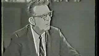 Analysis of 1968 Presidential Election