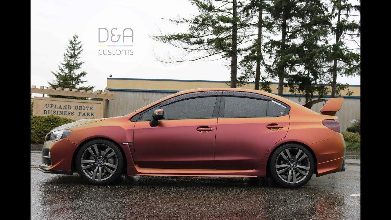 Subaru Wrx Wrap Avery Dennison Rising Sun By D A Customs Seattle Tacoma