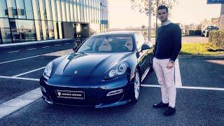 Porsche Panamera Turbo S REVIEW | TEST DRIVE