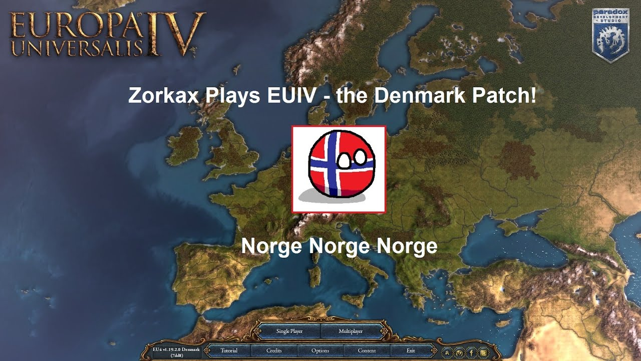 Zorkax Plays EUIV Norway Part YouTube - Norway map game