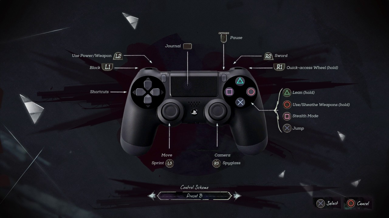 Dishonored pc controller support