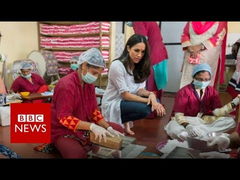 The Indian sanitary pad workers going to the royal wedding - BBC News