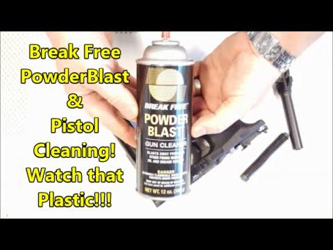 Breakfree Powder Blast And Your Polymer Pistol.............