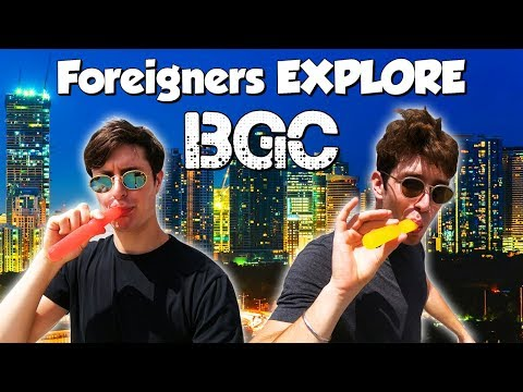 Foreigners Explore BGC Manila & Venice Grand Canal - Philippines Travel Vlog