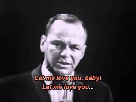 Frank Sinatra - Can't take my eyes off you - Karaoke