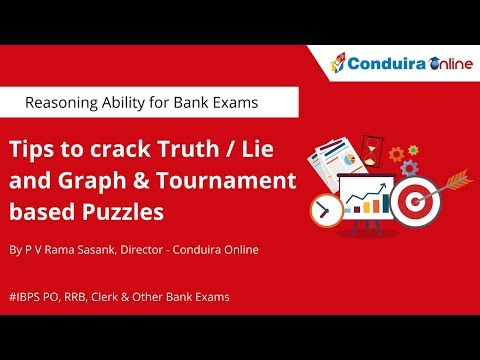 Truth/ Lie and Graph & Tournament based Puzzles in IBPS PO/Clerk/RRB and Other Bank Exams